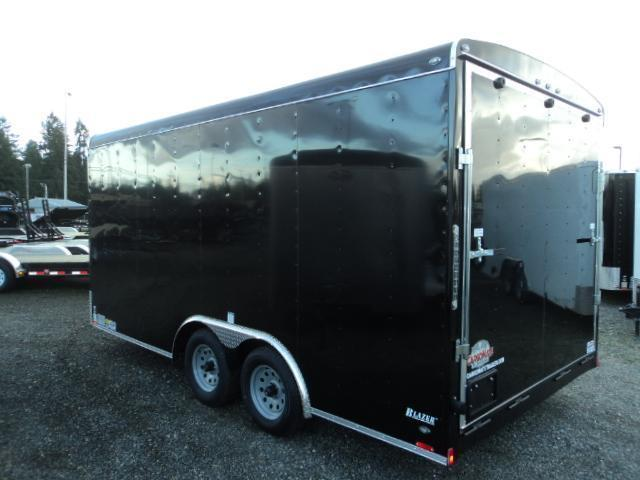 "2020 Cargo Mate Blazer 8.5x16 7K w/6"" Extra Height + Rear Ramp door"