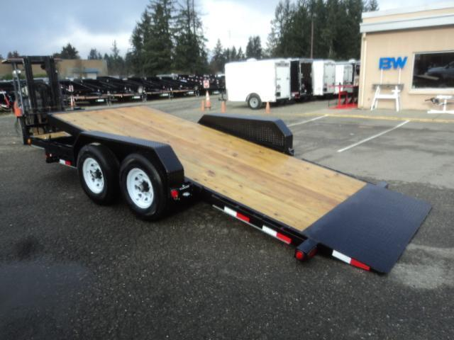 "2020 PJ Trailers 7x18 14K  6"" Channel Equipment Tilt Trailer"
