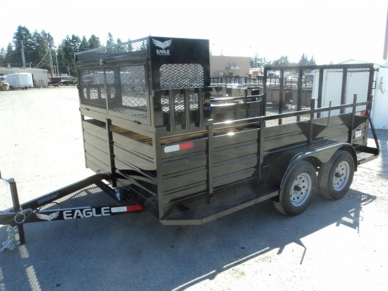 2018 Eagle 7X12 7K w/Landscape Package Utility Trailer