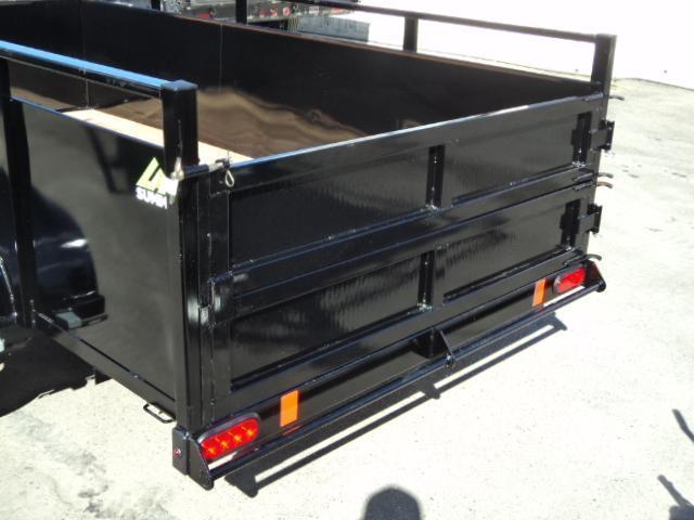 2019 Summit Alpine 5X8 Single Axle W/Split Ramp Utility Trailer