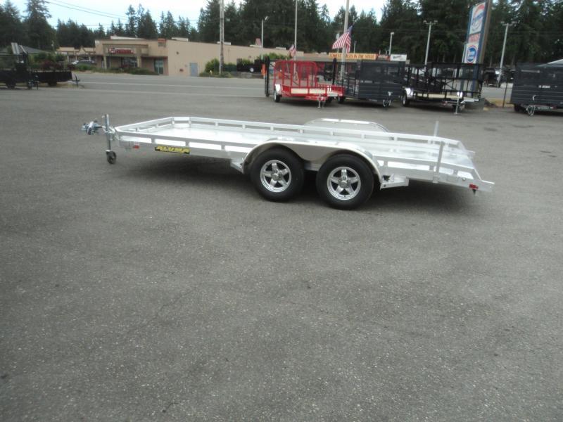 2020 Aluma 6.5X18 7K  w/Dovetail Car Hauler