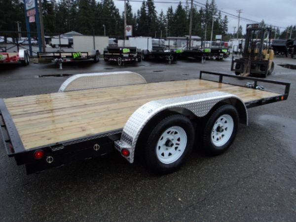 2019 PJ Trailers 7x16 7K Car / Racing Trailer