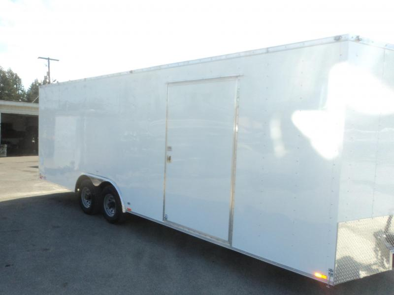 2018-Cargo Mate E-series 8.5x24 10K w/5K D-rings/Extra Height/Ceiling LIner++
