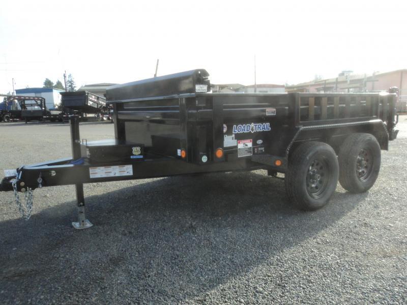 2019 Load Trail 6x10 7K Dump w/Tarp kit and Ramps