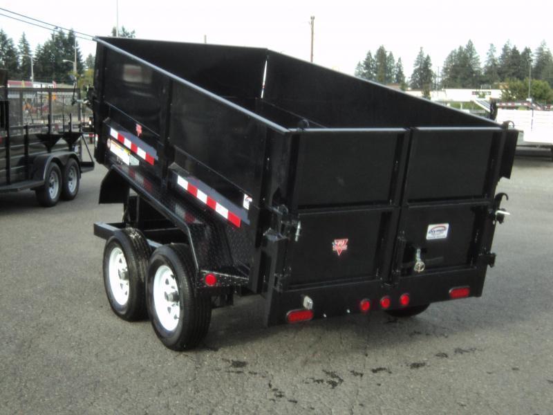 2020 PJ Trailer 5x10 7k w/Spare Tire/Side extension kit/Tarp Kit