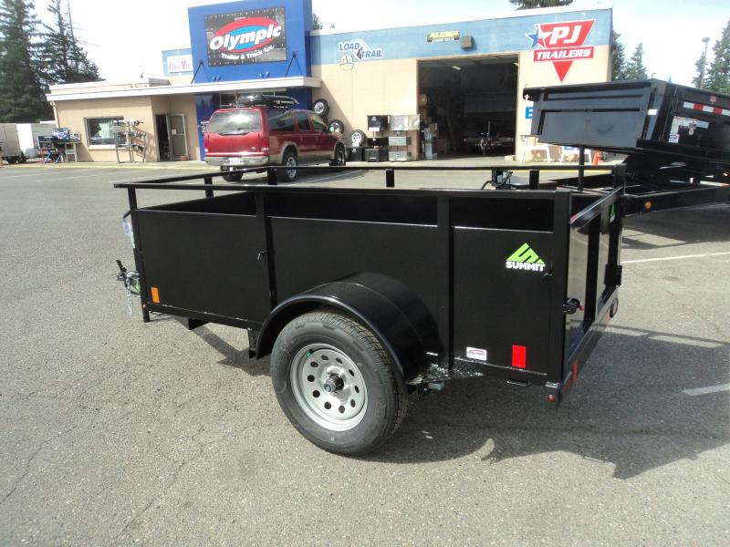 2020 Summit Alpine 4x8 Utility with Swing Gate
