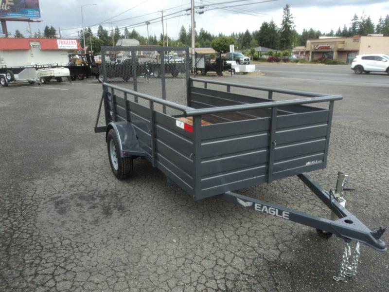 2018 Eagle Ultra Classic 6x12 with Swing Jack Utility Trailer