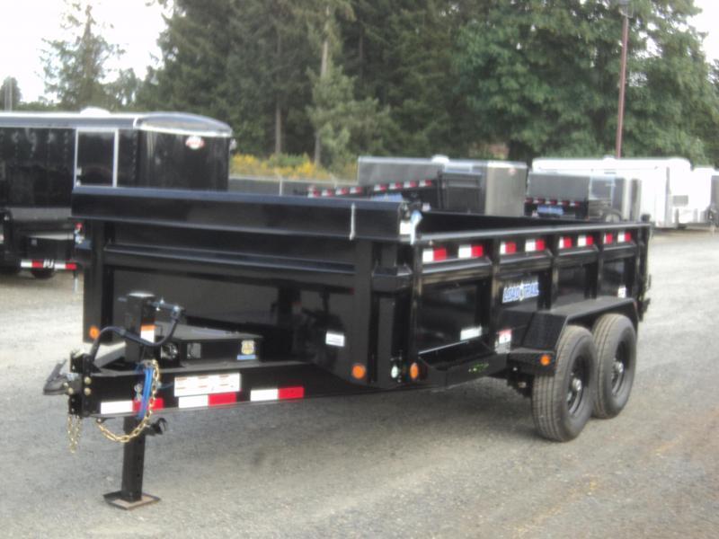 "2019 Load Trail 7X16 14K w/Tarp Kit/24"" sides/10K JACK/8 Amp Charger/Max Step"