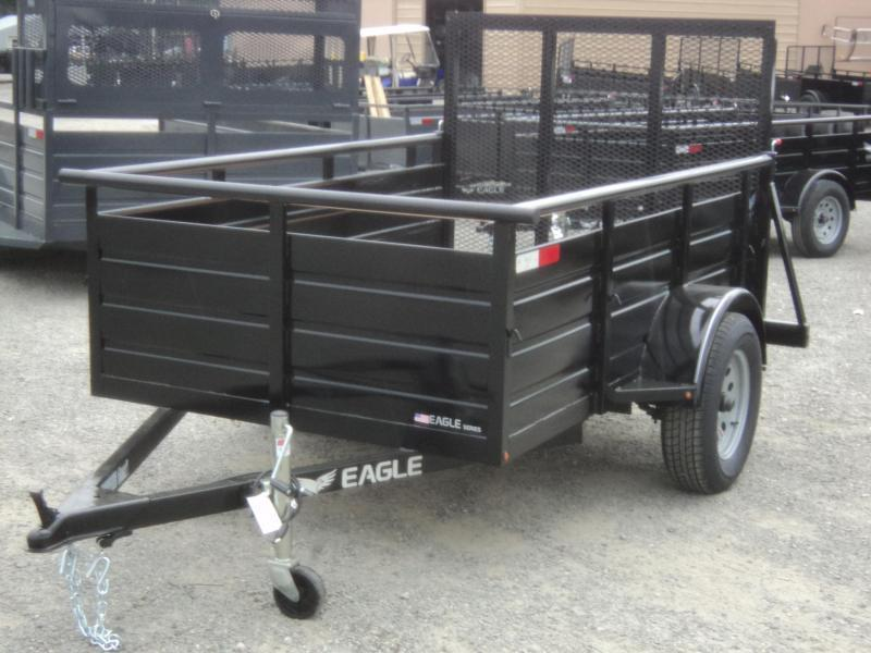 2018 Eagle Ultra Classic 5x10 with Swing Jack Utility Trailer