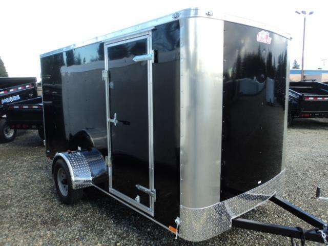 "2020 Cargo Mate Challenger 6x12 w/6"" Extra Height & Rear Ramp Door Enclosed Cargo Trailer"