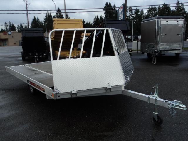 2019 Aluma 8612D 2 PLACE DRIVE ON Snowmobile Trailer