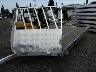 2018 Aluma 8612D 2 PLACE DRIVE ON Snowmobile Trailer
