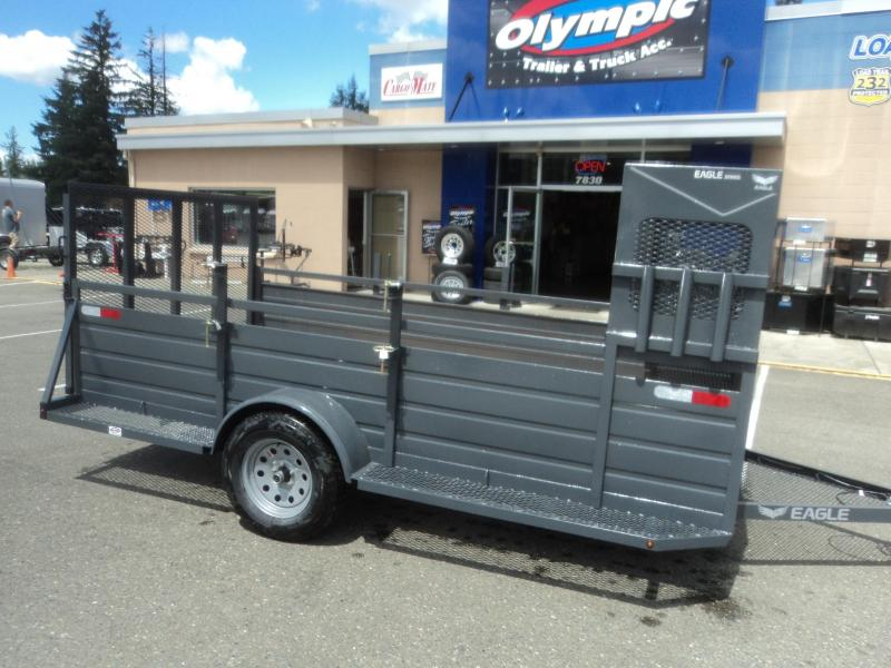2018 Eagle 6X12 w/Landscape Package Utility Trailer
