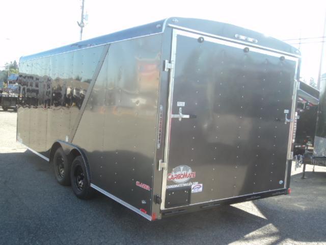 2020 Cargo Mate Blazer 8.5x20 7K  w/Matte Black Package/Wheel Upgrade