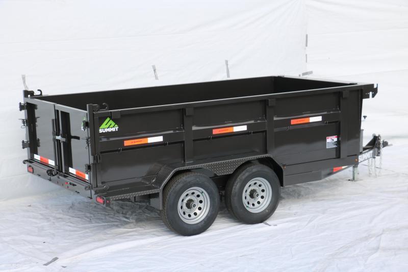 2019 Summit Cascade 6X12 10k Dump Trailer
