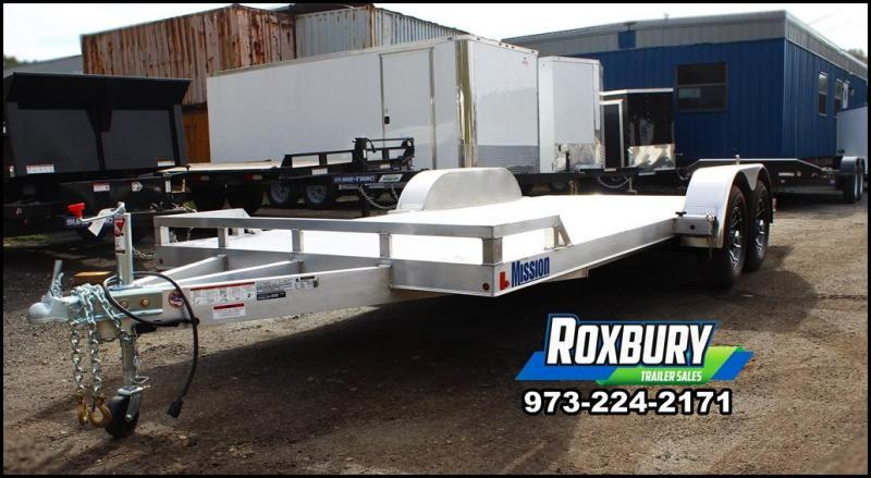 2018 Mission 7x20 10K Aluminum Car Trailer