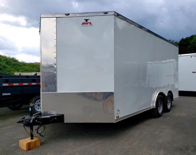 2019 Anvil 8x16 Enclosed Cargo Trailer