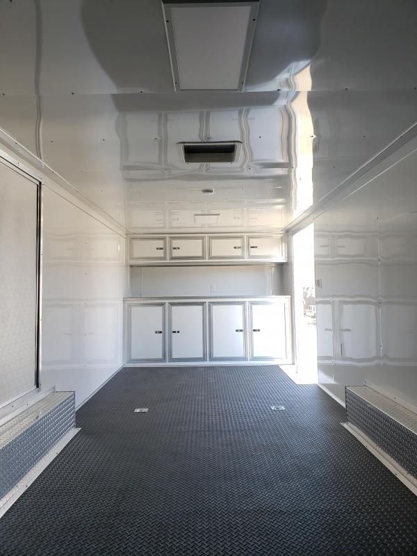 2019 Lark United 8.5x24 Enclosed Car Hauler Trailer [RACE PACKAGE]