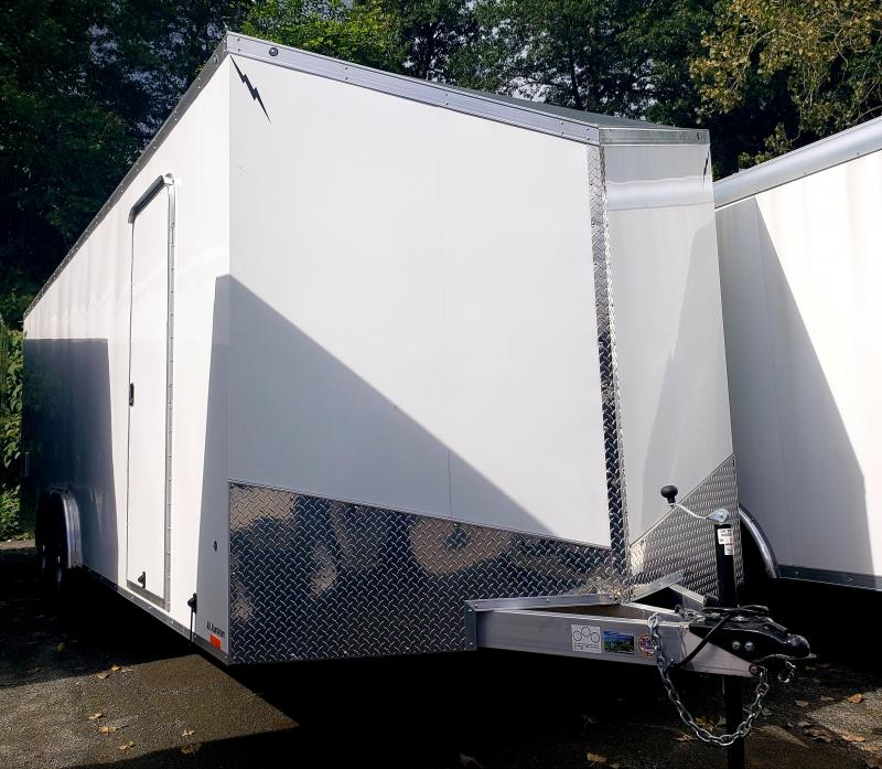 2019 Forest River Lightning 8.5x24 10K Enclosed Car Hauler Trailer