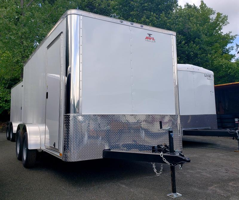 2019 Anvil 7x12 7K Enclosed Cargo Trailer