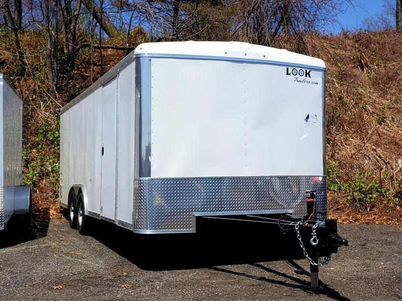 2018 Look Trailers 8.5x20 Enclosed Landscape Trailer