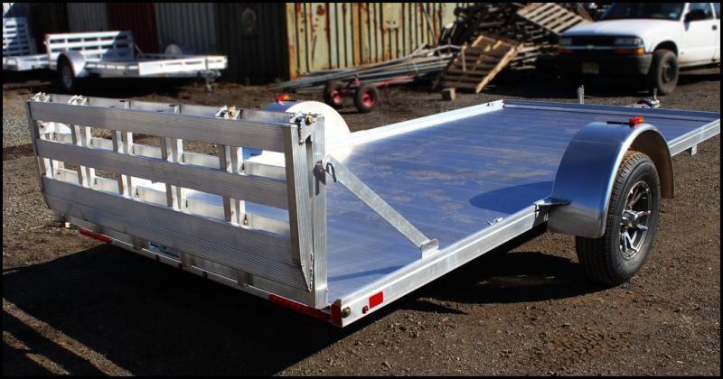 2018 Mission 6.5x14 Aluminum Slingshot Utility Trailer