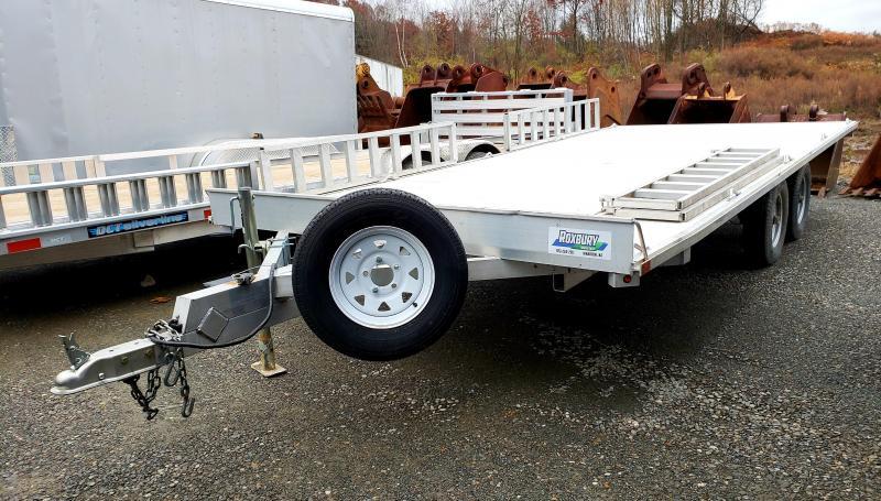 2015 Aluma 88X16 Aluminum ATV Utility Trailer