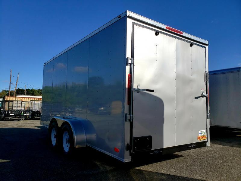 2019 Nexhaul 7x16 Enclosed Cargo Trailer