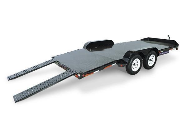 2020 Sure-Trac 7x18 10K Steel Deck Car Trailer