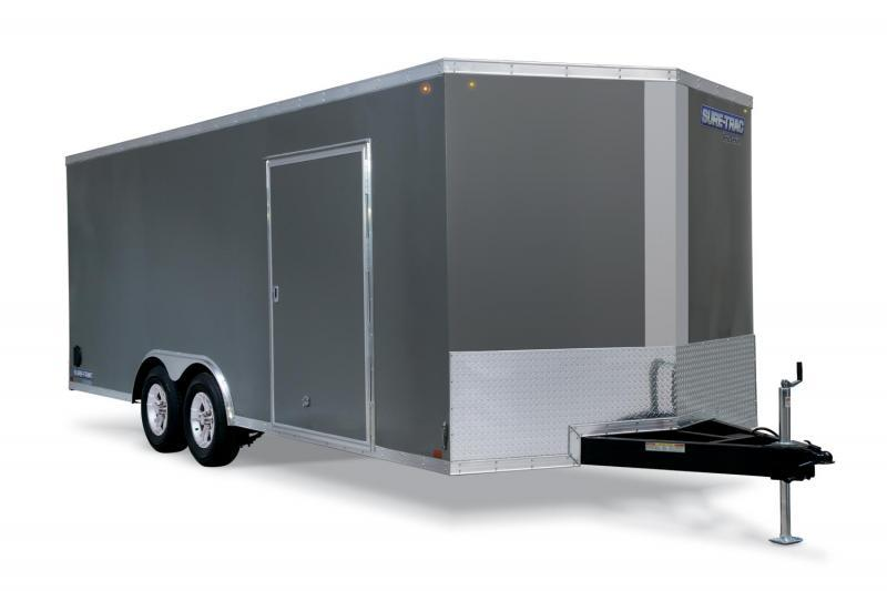 2019 Sure-Trac 8.5x24 10K Pro Series Wedge Front Car Hauler