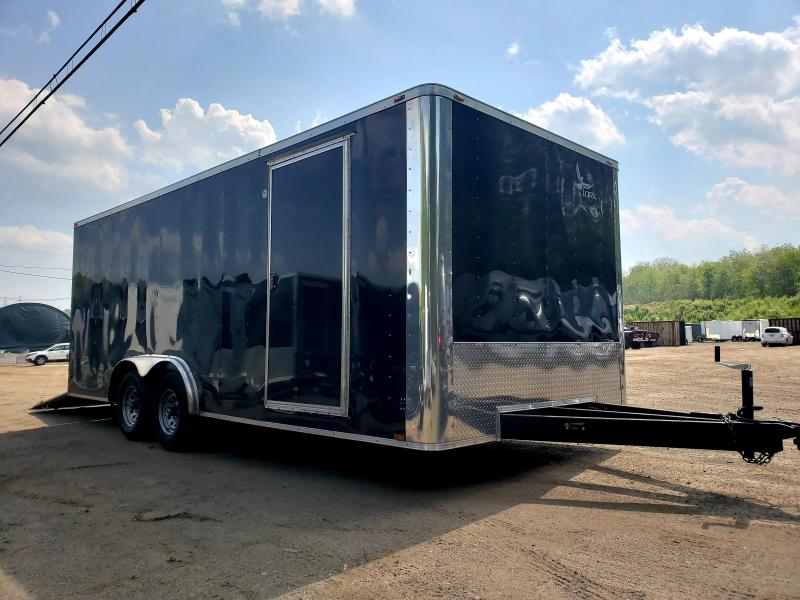 2018 Lark United 8.5x20 Enclosed Car Hauler Trailer