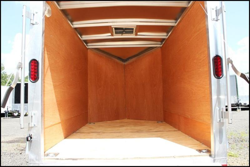 2019 Lightning 5x8 Aluminum Enclosed Trailer