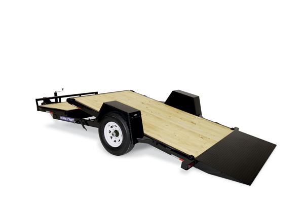 2019 Sure-Trac 6.5x12+4 7.8K Single Axle Tilt Equipment Trailer