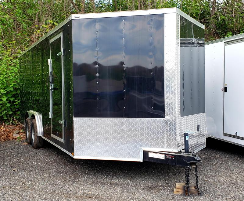 2017 Lark United 8.5x24 Enclosed Car Hauler Trailer