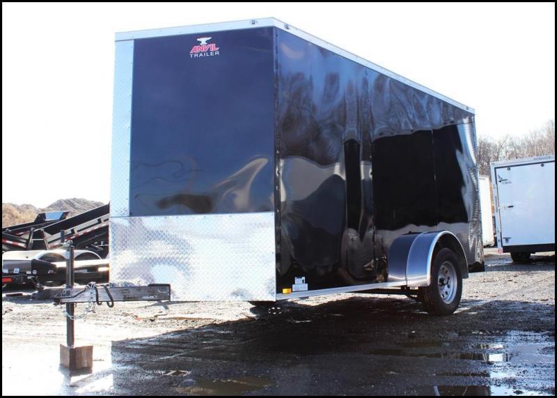 2020 Anvil 7x12 SA Enclosed Cargo Trailer