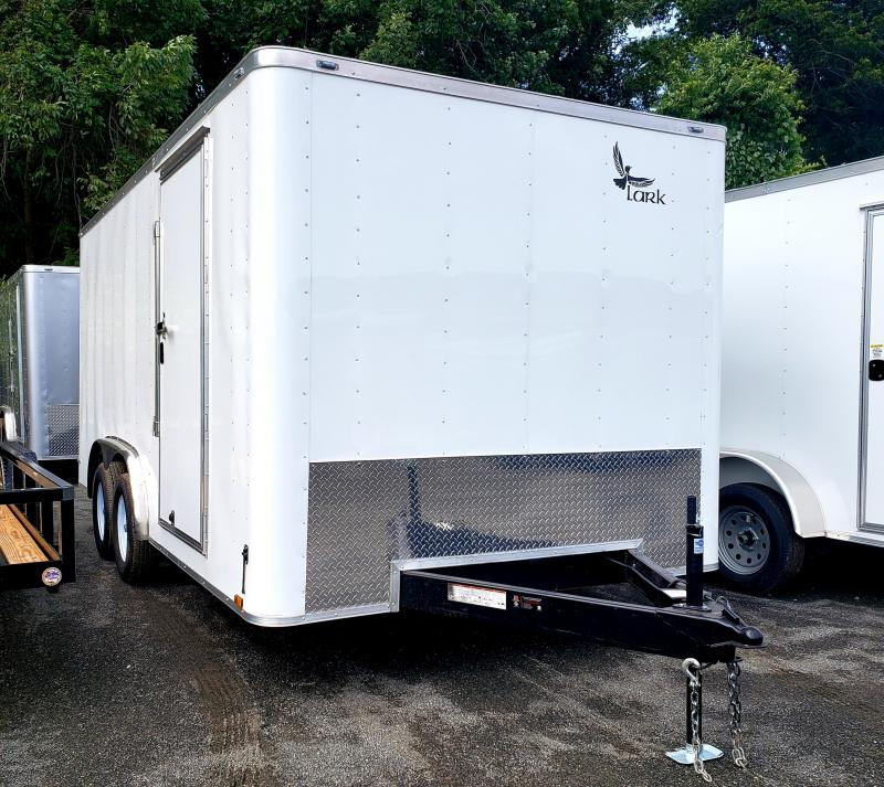 2019 Lark 8x16 Enclosed Cargo Trailer