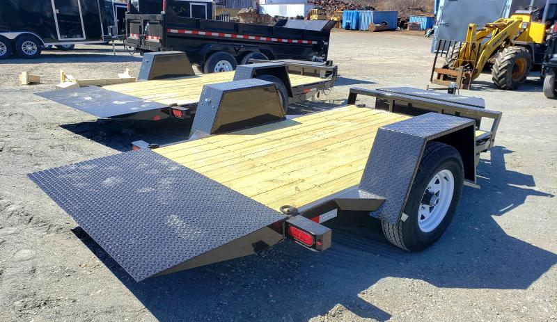 2019 Sure-Trac 5X10 6K Single Axle Tilt Bed Equipment Equipment Trailer