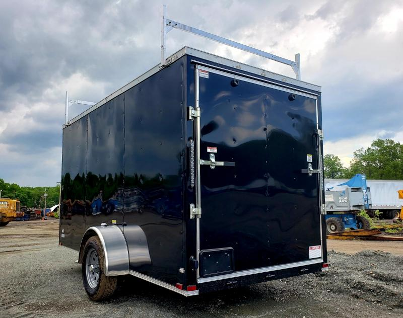 2019 Quality Cargo 6X12 Enclosed Cargo Trailer [Ladder Racks]