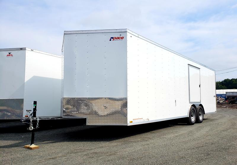 2019 Pace American Journey 8.5X24 10K Enclosed Car Hauler Trailer
