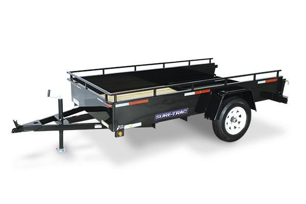 2018 Sure-Trac 5x10 Steel High Side Utility Trailer