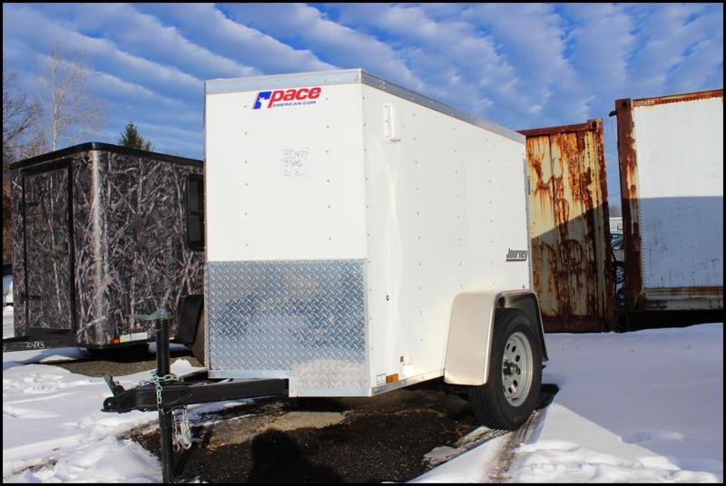 2018 Pace American 4x6 Enclosed Cargo Trailer