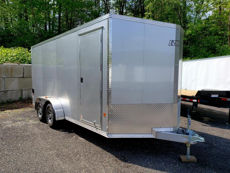 2018 EZ Hauler 7X16 Aluminum Enclosed Cargo Trailer