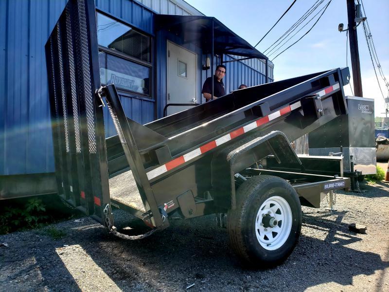 2018 Sure-Trac 5x8 5K Homeowner Dump Trailer [Landscape Gate]