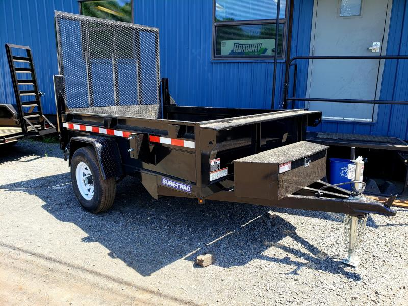 2018 Sure-Trac 5x8 5K Homeowner Dump Trailer [Landscape Gate]