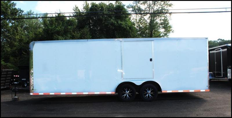 2018 Lark United 8.5x24 Enclosed Car Hauler Trailer [RACE PACKAGE]