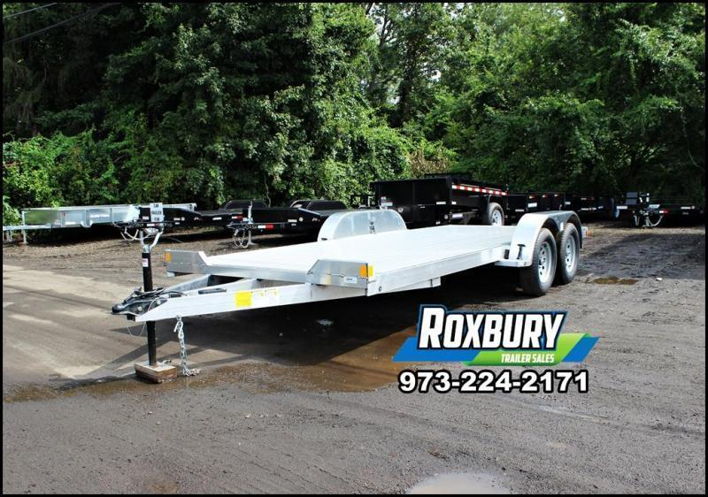2019 Lightning 7x17 Aluminum Car Trailer