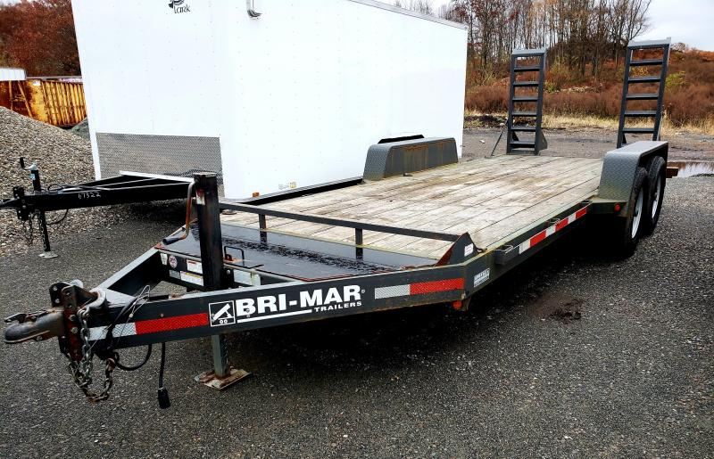 2010 Bri-Mar 7X18 14K Equipment Trailer