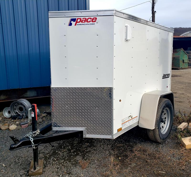 2019 Pace American Journey 4X6 Enclosed Cargo Trailer