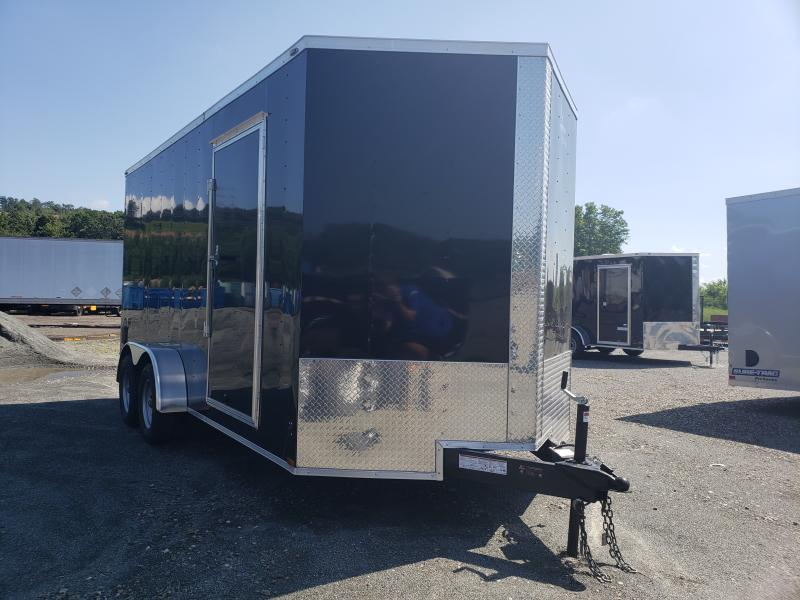 2020 Lark 7X16 Enclosed UTV Cargo Trailer