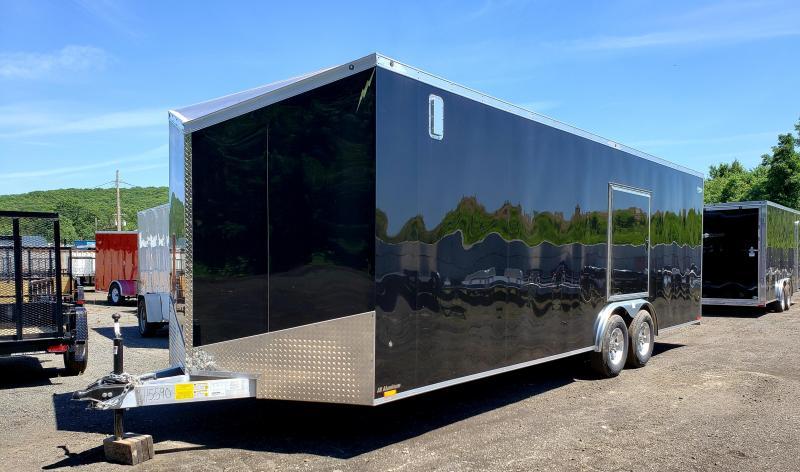 2019 Lightning 8.5x24 10K Enclosed Car Hauler Trailer